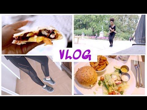 HEALTHY DAY • Morning Routine Sport & Journée dans mon assiette - Vlog // Beautiful Naturelle