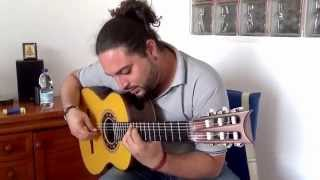 Tangos up-date Niño Seve plays a vintage Andalusian Marcelo Barbero 1948/2005 guitar CFG Spain