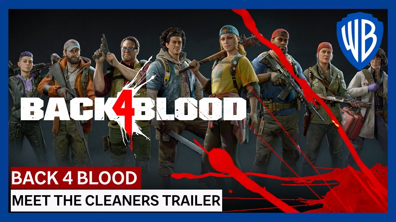 """Get to Know """"The Cleaners"""" in New Back 4 Blood Trailer"""