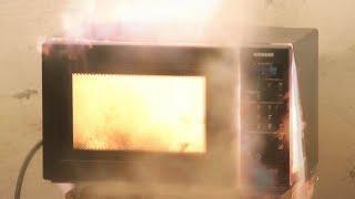 Cursed Microwaves