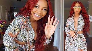 3-IN-1 GRWM MakeUp Hair Outfits ft Amrezy Highlighter & Obehi's Boutique