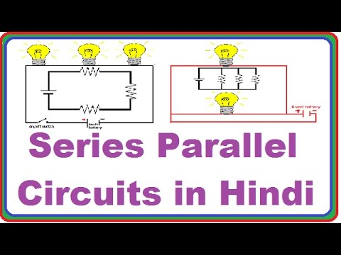 Series And Parallel Circuits in Hindi - YouTube