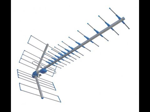Antena Digital Externa Proeletronic PROHD-1100 TV Digital / UHF / Yagui -  YouTube