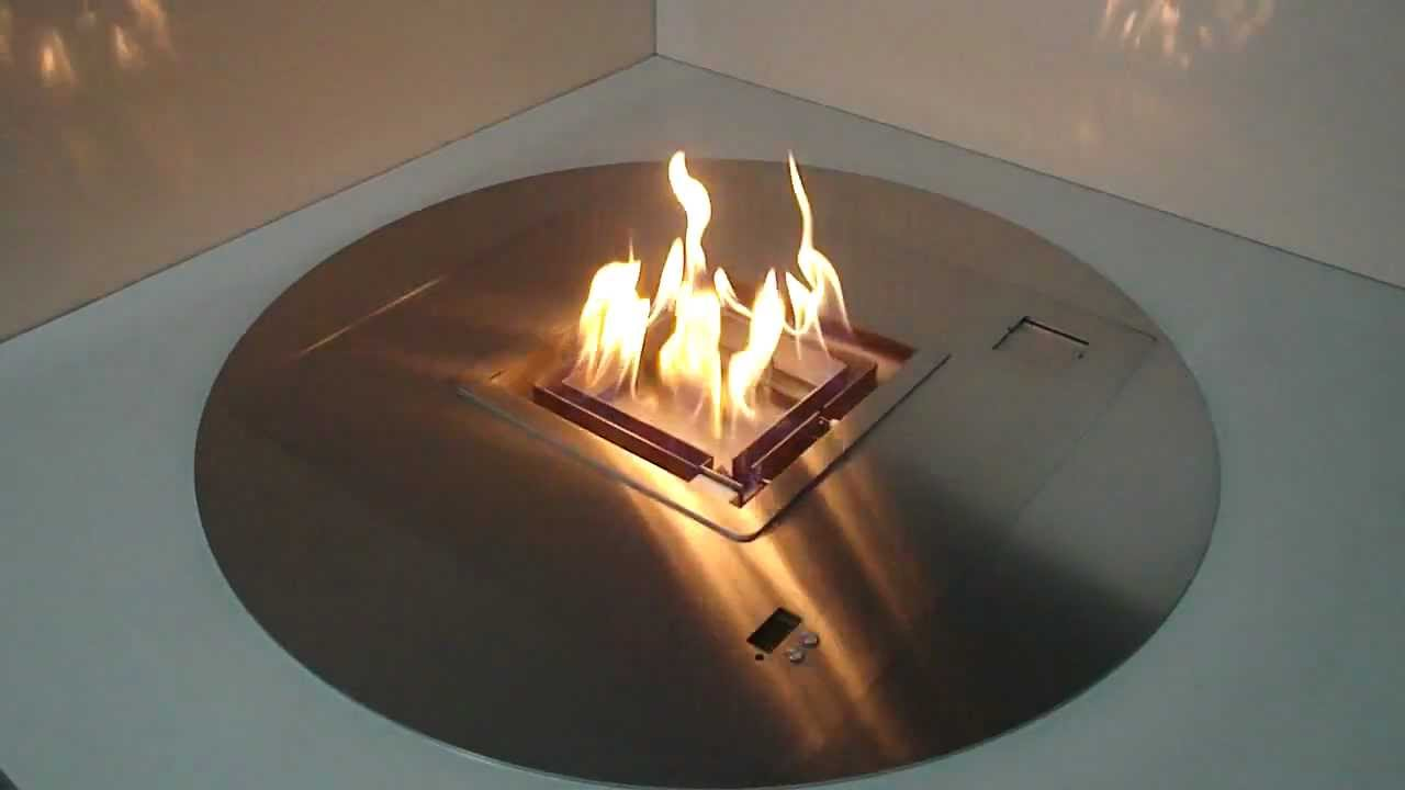 round ethanol burner a fire how to create a remote controlled