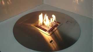 Round Ethanol Burner A-fire How To Create A Remote Controlled Ventless Fireplace