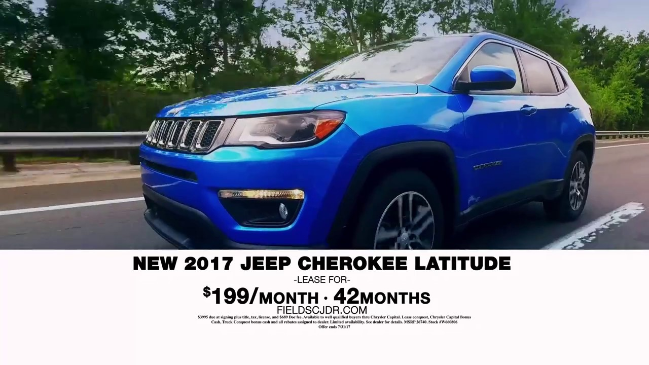 Special Offer On A Jeep Cherokee Latitude YouTube - Chrysler capital bonus cash