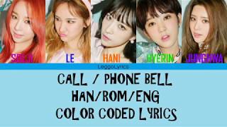 EXID (이엑스아이디) - Telephone (전화벨) [Color Coded…