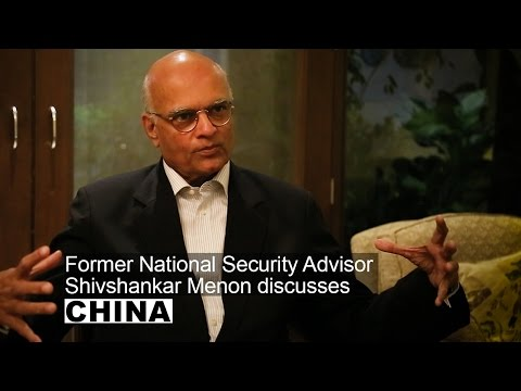 Shivshankar Menon discusses Indo-China relations