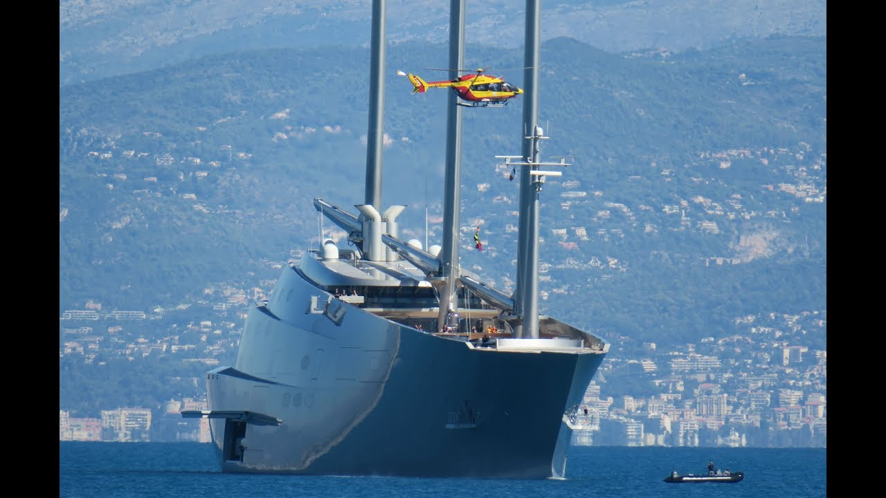 Crewmember Getting Seriously Injured On Sailing Yacht A