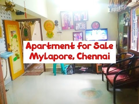 Apartment For Sale At Mylapore, Chennai | Rs. 32 Lakhs | World New Property