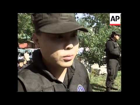 Beijing police show off security skills
