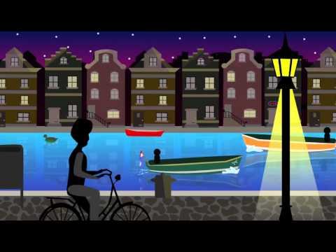 2D Animated Environment Amsterdam