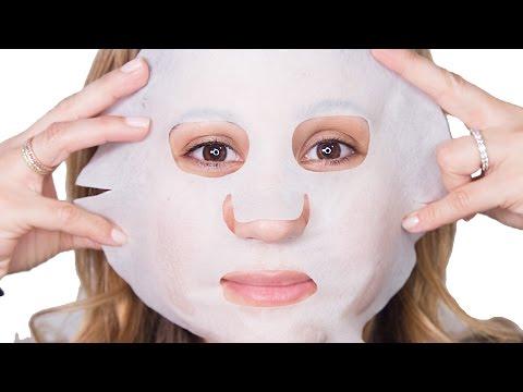 DIY Sheet Mask with Green Tea, Milk, & Rice Paper