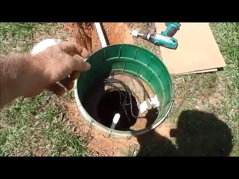 How to - Water softener drainage to septic tank