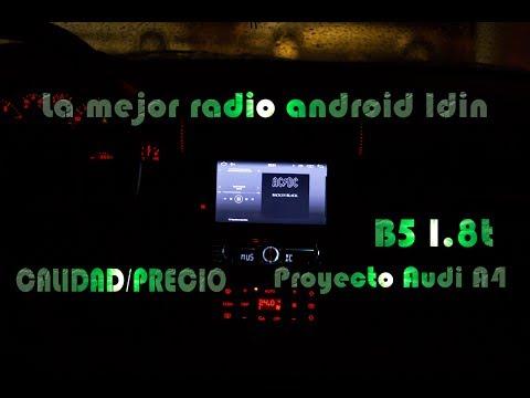 La mejor radio ANDROID 1DIN calidad/precio - Como montarla - Audi A4 B5 1.8T