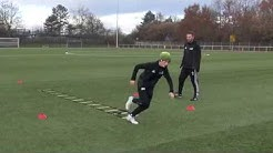 Persönlicher Fussball Trainingsplan: Fussball Koordinationstraining/Einzeltraining
