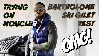 TRYING ON MONCLER BARTHOLME GILET VEST | Full Review & Try-on | JustGotCopped