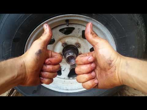 How To Service Boat Trailer Bearings
