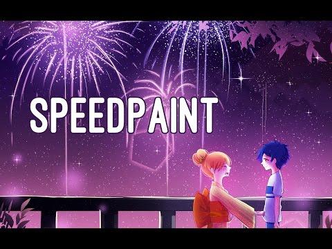 [Speedpaint] Natsu no Owari Koi no Hajimari