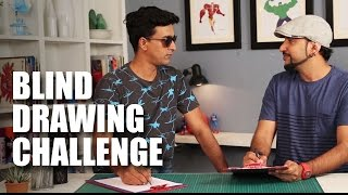 Blind Contour Drawing Challenge feat. Varun Thakur