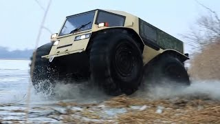 Video Extreme Off Road Russian Amphibious SHERP Vehicle download MP3, 3GP, MP4, WEBM, AVI, FLV Juni 2018