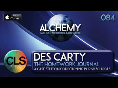 Alchemy 084 - Des Carty - The Homework Journal