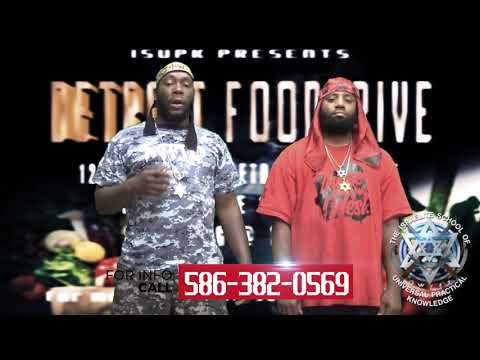 ISUPK DETROIT FOOD DRIVE FRIDAY JUNE 12TH 2020
