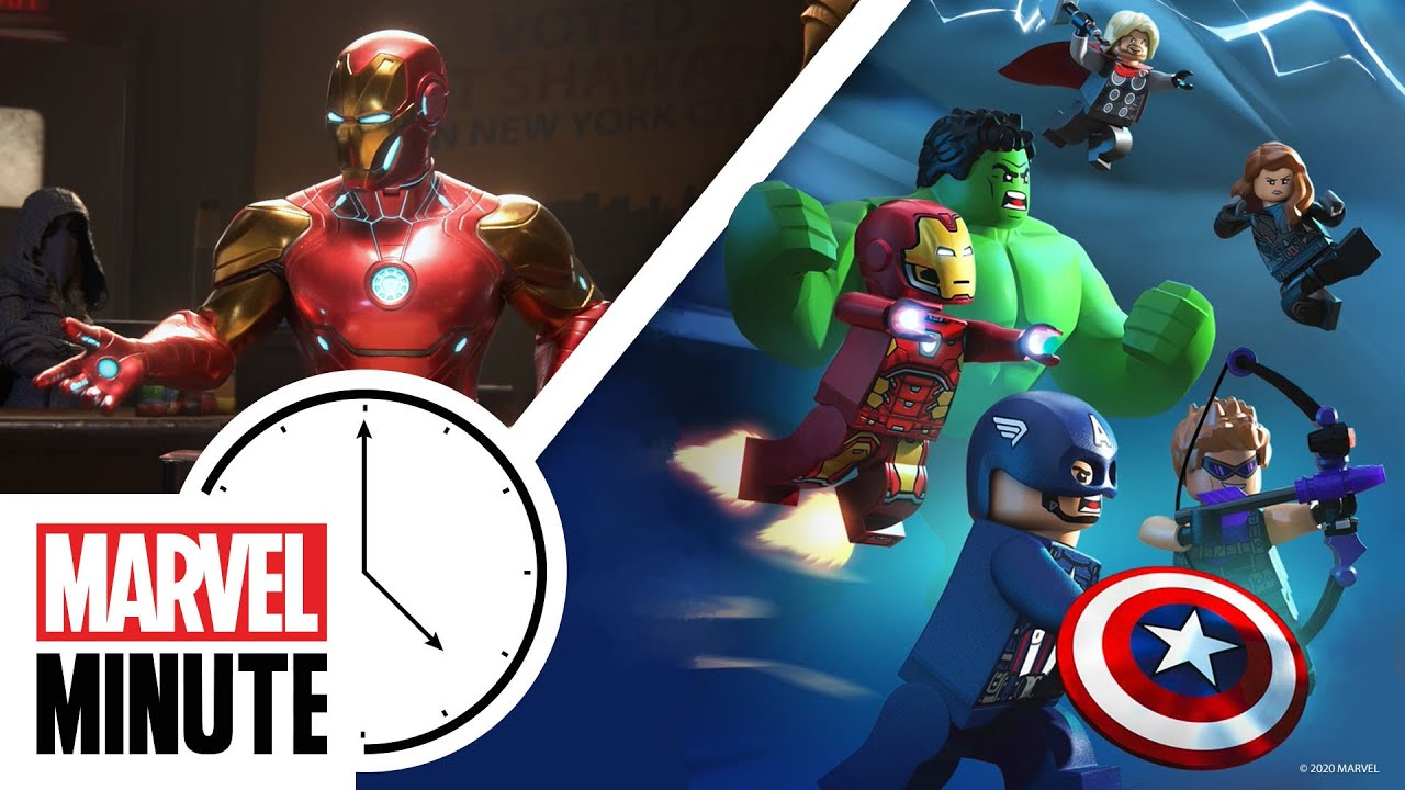 LEGO Marvel Avengers & A New Marvel Game! | Marvel Minute