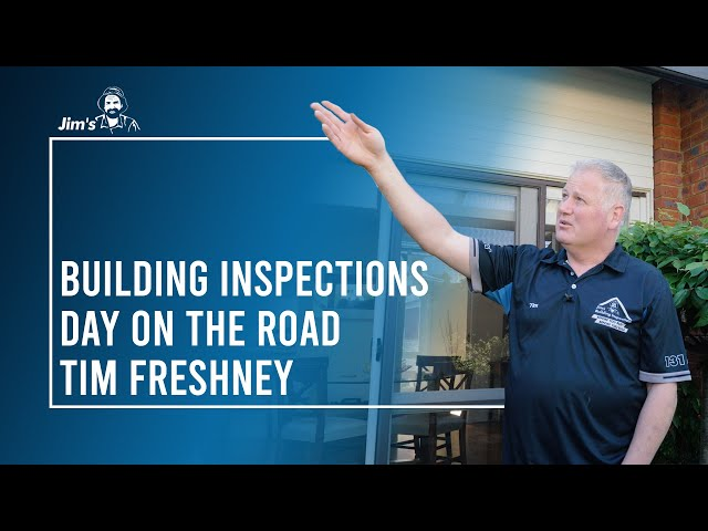 Part 2 - Day on the road with Tim and Sam from Jim's Building Inspections | Asbestos |