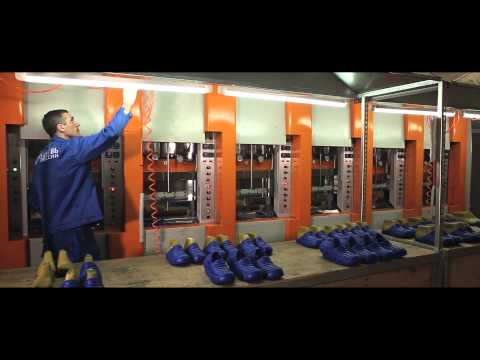 "Производство обуви All.GO на фабрике ""Обуви России"" в Новосибирске"