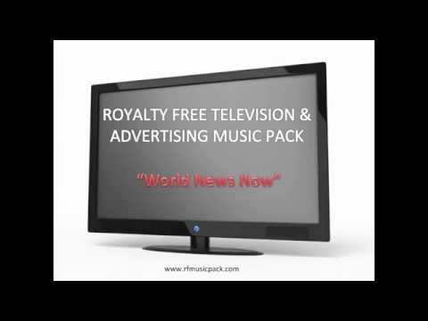 Royalty Free Music - 2015 Instrumental Background - World News Now
