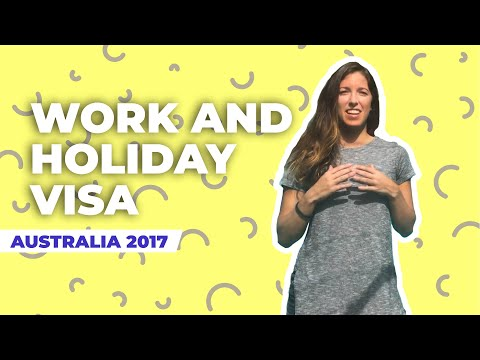 Work and holiday visa Australia 2017 | Pasos