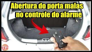Instalação de alarme no VW Gol G6 (com abertura do porta malas via auxiliar do alarme)