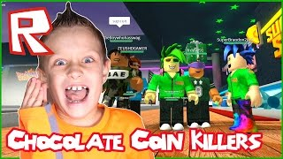 Chocolate Coin Killers / Roblox Super Bomb Survival