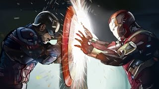 CAPTAIN AMERICA: CIVIL WAR | Digital Painting | Photoshop | Time Lapse | Tutorial | Speed Drawing