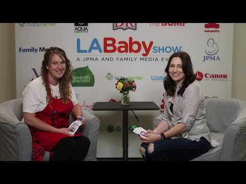 MomAngeles Chats Organic Food for Tots with Once Upon A Farm at LA Baby Show