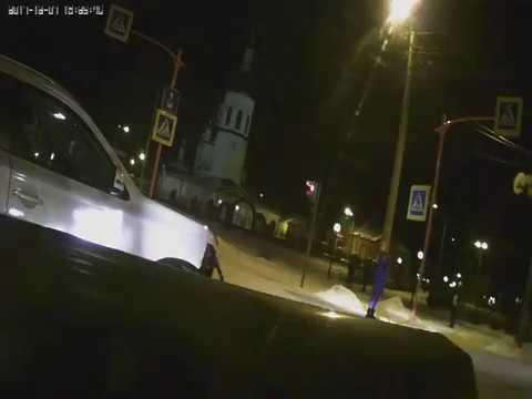 ДТП 14.12.2017 Канск перекрёсток Ленина-Московская