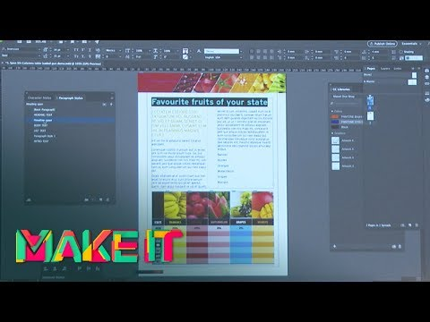 MAKE IT 2017 - Aaron Riches - The Tricks and Tips of InDesign