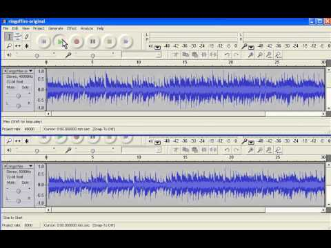 CSC-200: Effect of sampling rate on sound quality
