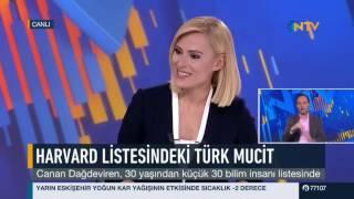 Canan Dagdeviren NTV AnaHaber'de Seda Ogretir ile sohbet ediyor