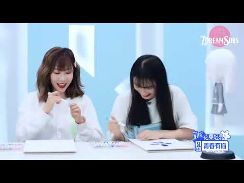 [ENG SUB] 200424 Youth with You 2 | Beauty Dress Up Competition. Personal Badge Design with Handong
