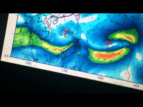 Six tropical cyclones possible over the Western Pacific this week