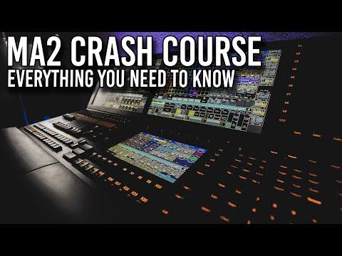 MA2 Crash Course - Program a Show From Scratch