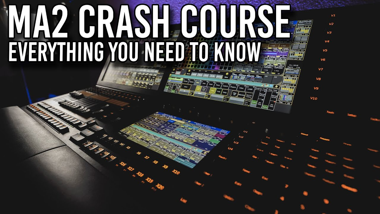 Download MA2 Crash Course - Program a Show From Scratch