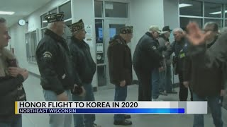 Old Glory Honor Flight heading to Korea