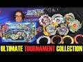 ULTIMATE TOURNAMENT COLLECTION! BEYBLADE BURST EVOLUTION REVIEW TEST BATTLES