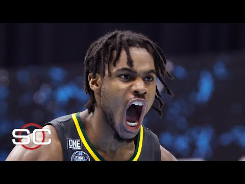 Reaction to Baylor DOMINATING Gonzaga in the 2021 NCAA Tournament title game | SportsCenter