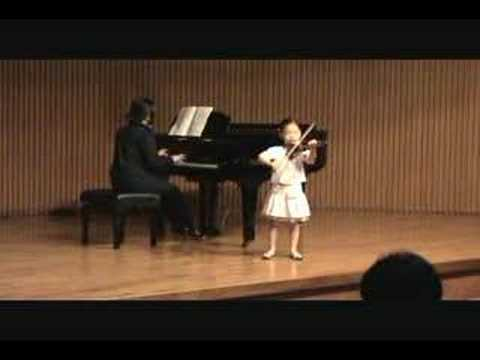 Theme from Witches' Dance - 5 yrs old