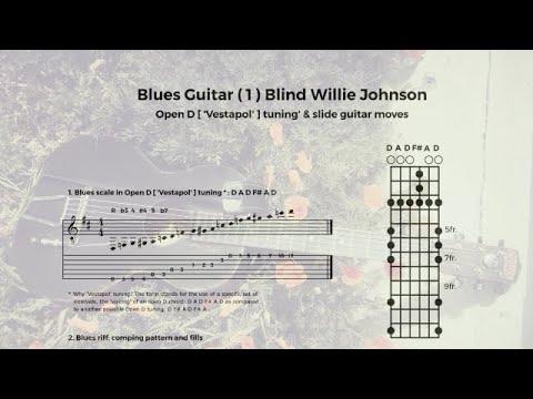 Chord Yoga: Blues Guitar (1) Blind Willie Johnson