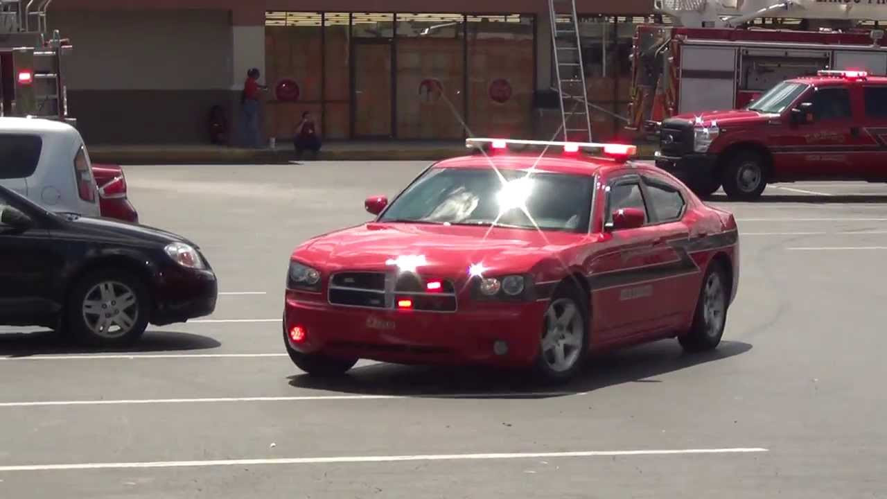 Nice Largo Fire Rescue Chiefu0027s Dodge Charger